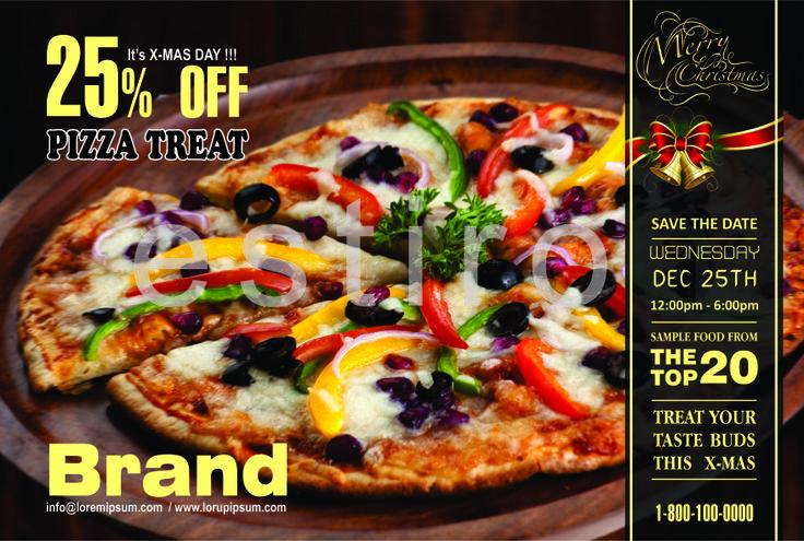 Flyer for restaurant....