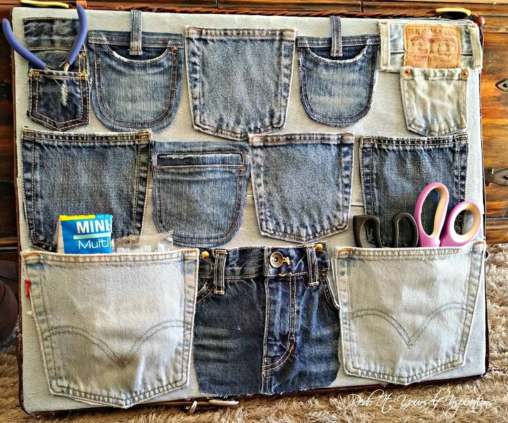 The Best Ideas To Reuse Old Jeans You Must Try At Least Once