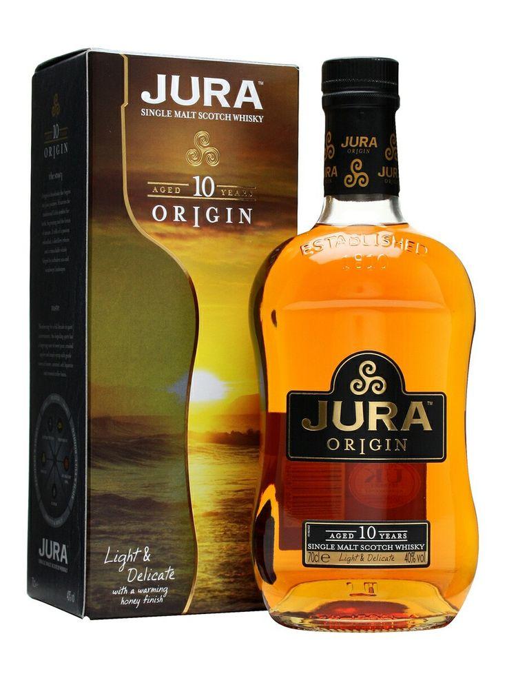 Jura Origin, single malt, 10 years, Scotland.