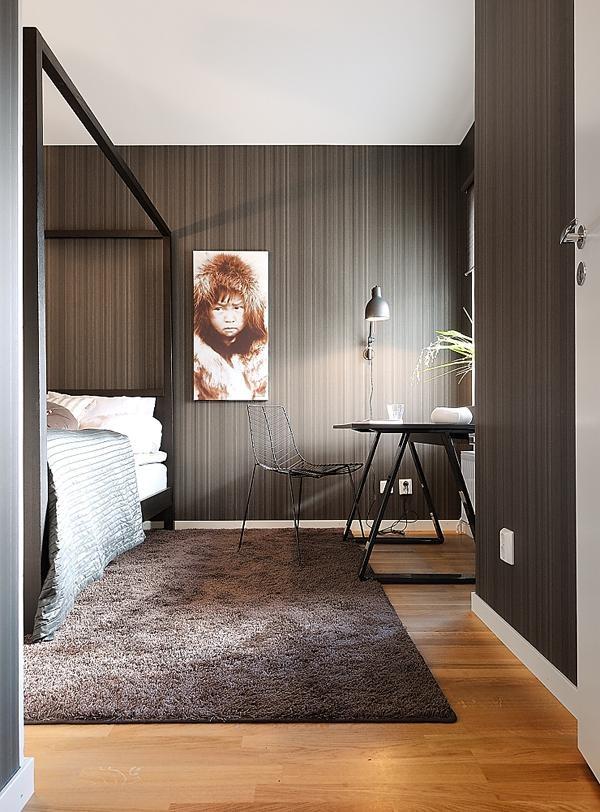 Interior by me. JM 2010.: Bedrooms Rugs, Dreams Bedrooms, Beds Head, Interiors Design, Design Bedrooms, Chocolates Brown, Bedrooms Ideas, Brown Rooms