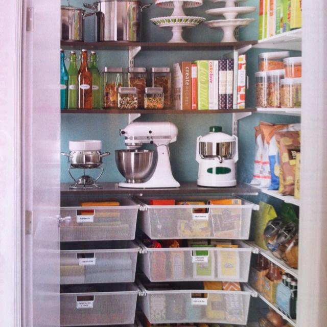 Organized pantry | Home - Kitchen | Pinterest | Pantry