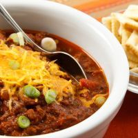 Copycat Wendy's Chili in the Crockpot!  Everyone loves the famous chili at Wendy's, and now you can make this recipe in the comfort of your own home...in your crockpot!