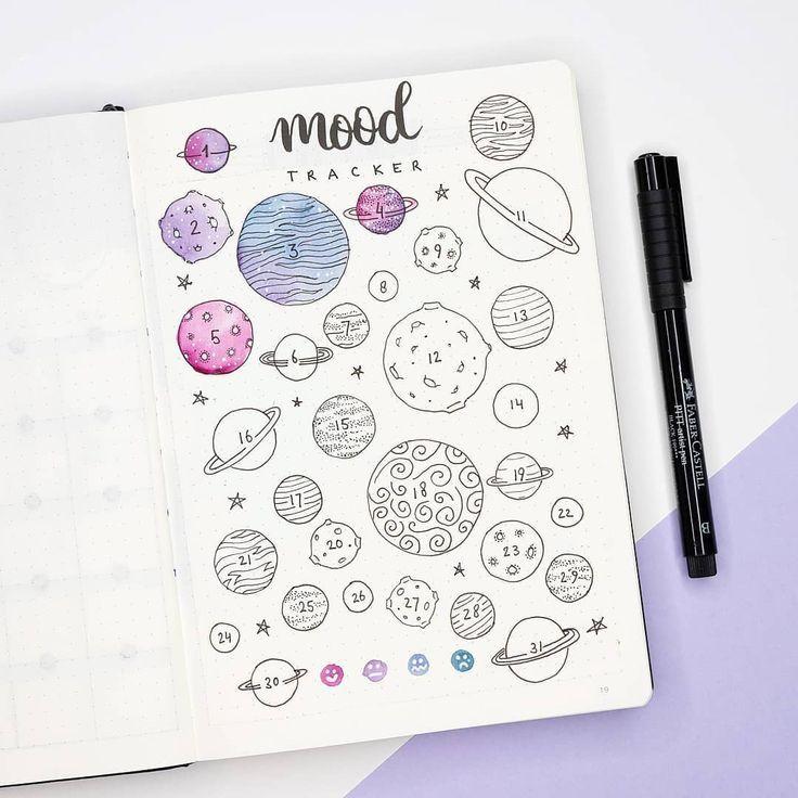 Mood Tracker des Monats! Ich mag das lila … – #Monat #Stimmung #Lila #Themen #Tracker