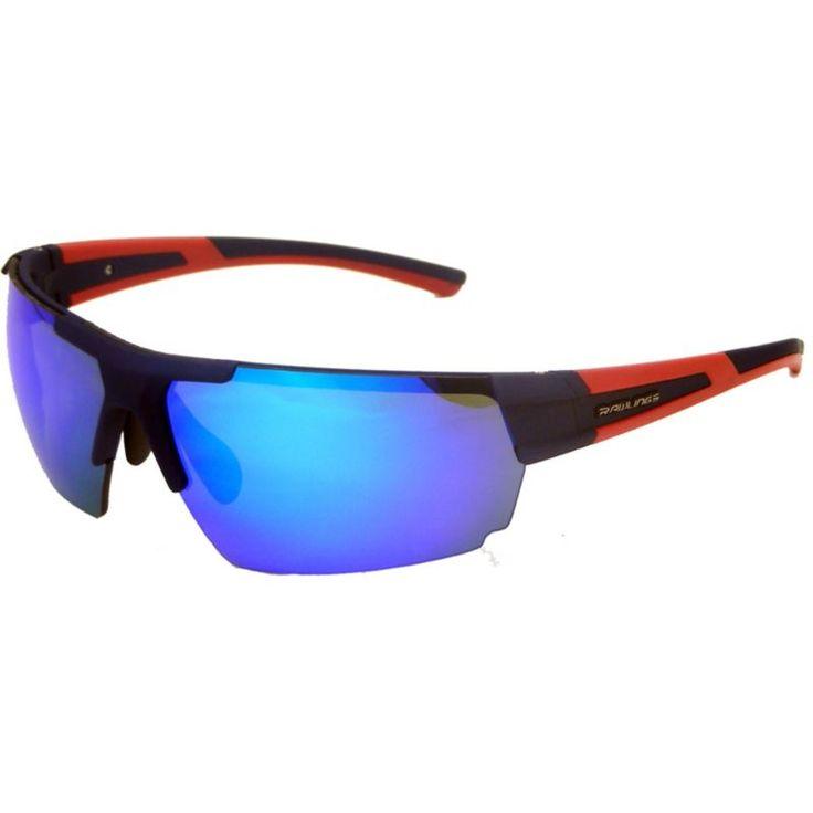 Rawlings 26 Navy Blue Mirror Baseball Sunglasses