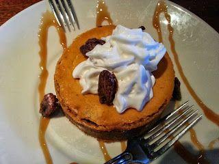 Incredible Pumpkin Cheesecake @ Wood Ranch - Camarillo!  http://www.calcoastfoodie.com/2013/10/wood-ranch-camarillo.html