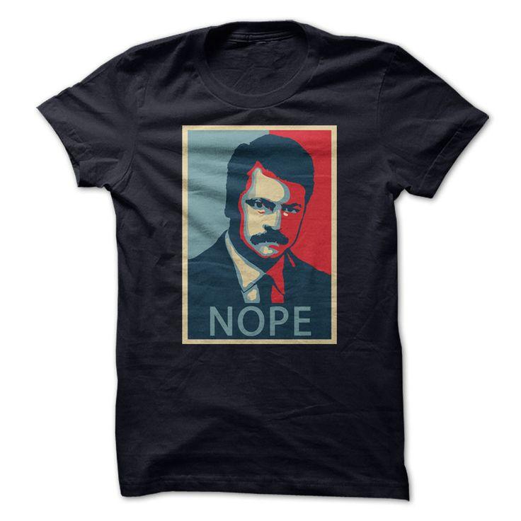 NOPE! Gotta love Ron!