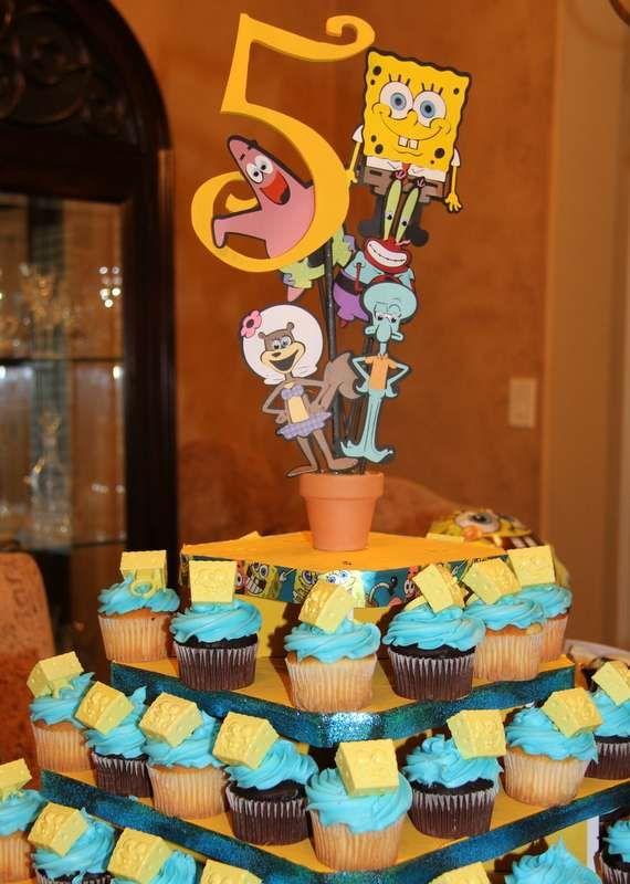 Spongebob Water Bash Birthday Party Ideas