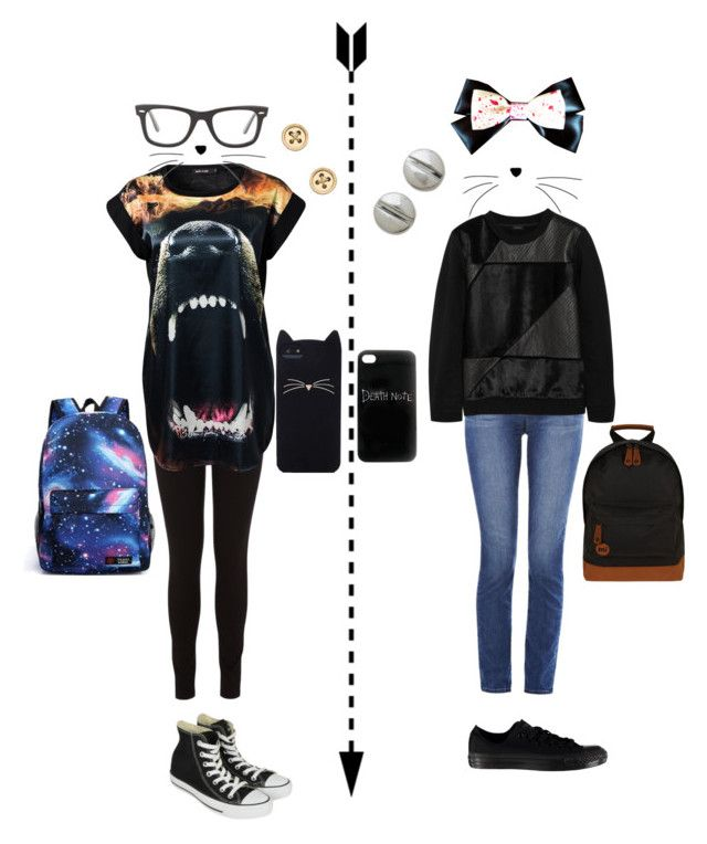 """""""Dan and phil traveling to vidcon( girl version ) p.s I know I'm late for this since vidcon is over"""" by sabi-kens ❤ liked on Polyvore featuring Oasis, River Island, Converse, Blu Bijoux, Ray-Ban, Kate Spade, Marc by Marc Jacobs, G1, Mi-Pac and J Brand"""