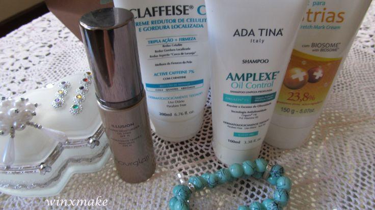 Base Hidratante Illusion Ada Tina Claffeise CL Ada Tina Amplexe Oil Control Shampoo Creme para estrias bio-medicin