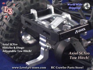 Axial SCX10 Honcho Dingo | Adjustable Tow Hitch | Custom Scale RC Truck Parts! [SCX-11 CATH]