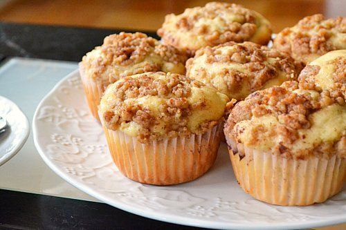 Felt like baking a fall treat this past weekend - these Apple Struesel Muffins were so easy and came out delicious!!