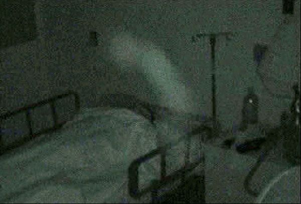 The ghost of Osaka Hospital, Japan