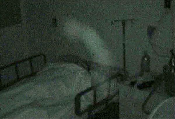 The ghost of Osaka Hospital, Japan