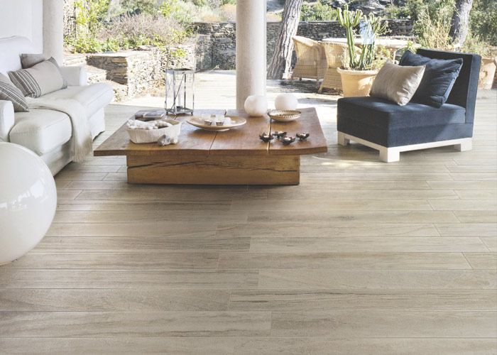 Vision Stone - a combination of Travertine, Marble and Petrified Wood looks all in one high quality porcelain mix.