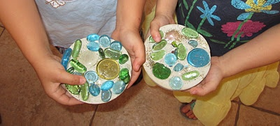 Concrete Stepping Stones Craft
