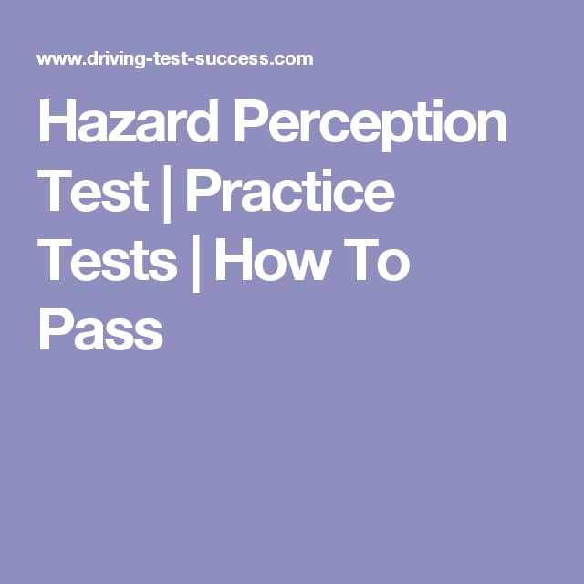 Hazard Perception Test | Practice Tests | How To Pass