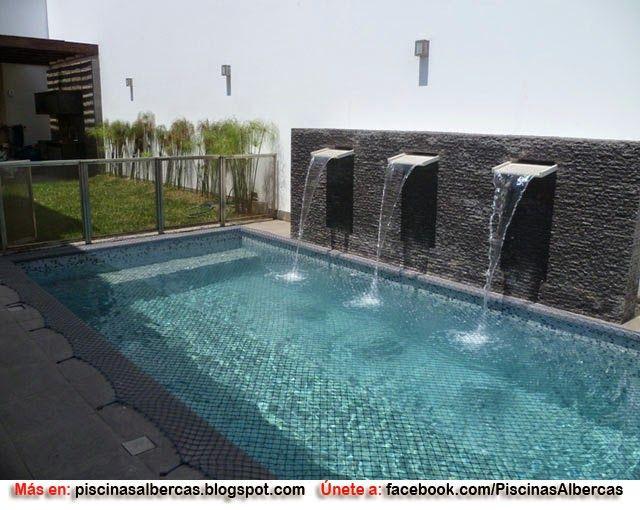 M s de 25 ideas fant sticas sobre piscinas modernas en for Como construir una piscina en chile