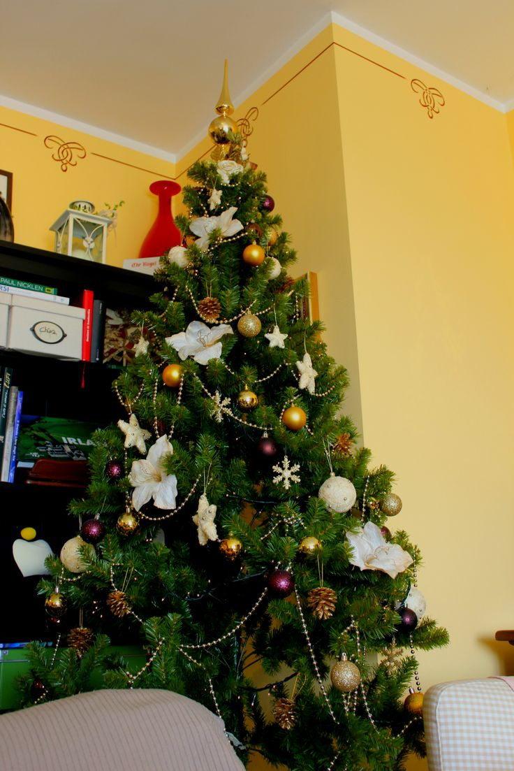 Xmas 2014 at Chiara's  Tree and decorations: IKEA and Co.Import
