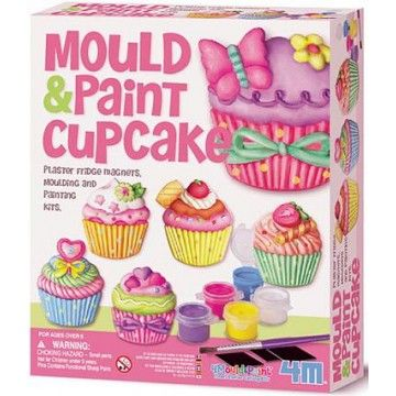 Mould and Paint Cupcake