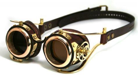Óculos steampunk                                                                                                                                                                                 Mais