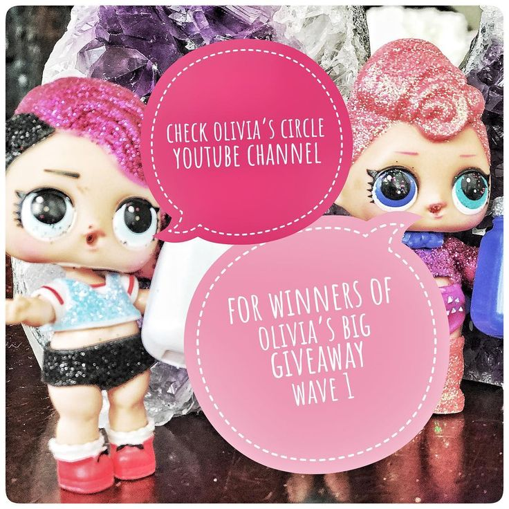 Check Olivias Circle YouTube channel for list of winners of Wave 1 of Olivias Big Giveaway! More winners over the next two weeks. #oliviascirclesquad #lolsurprise #hatchimals #fingerlings #squadgoals  #cuddlebarn #giveaway #dolls #blindbag #unboxing #unboxlol