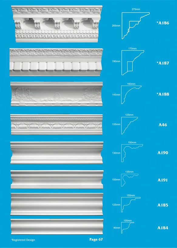 Page 19 - Cornice - Ceiling Panels is Brisbane's largest supplier of plaster ornamental cornice, colonial cornices, art deco cornices, victorian style cornices, federation style cornices, georgian cornices, and neo gothic cornices.