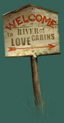 River of Love cabins in Oklahoma - near the Winstar Casino and an hour away from Fort Worth
