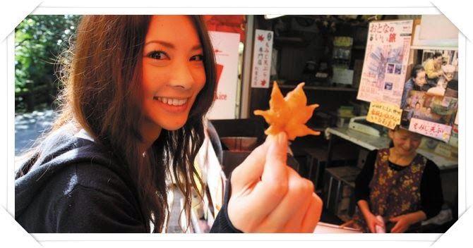 Fashion In Japan: Ehető falvelek (Momiji tempura) - Különleges recep...