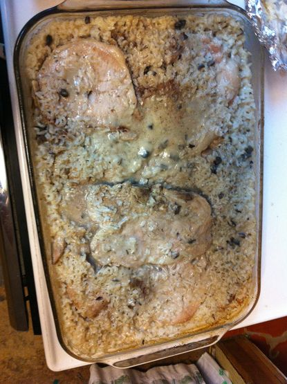 Simply Oven Baked Pork Chops And Rice Recipe - Food.com