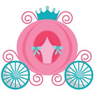 Princess Carriage SVG