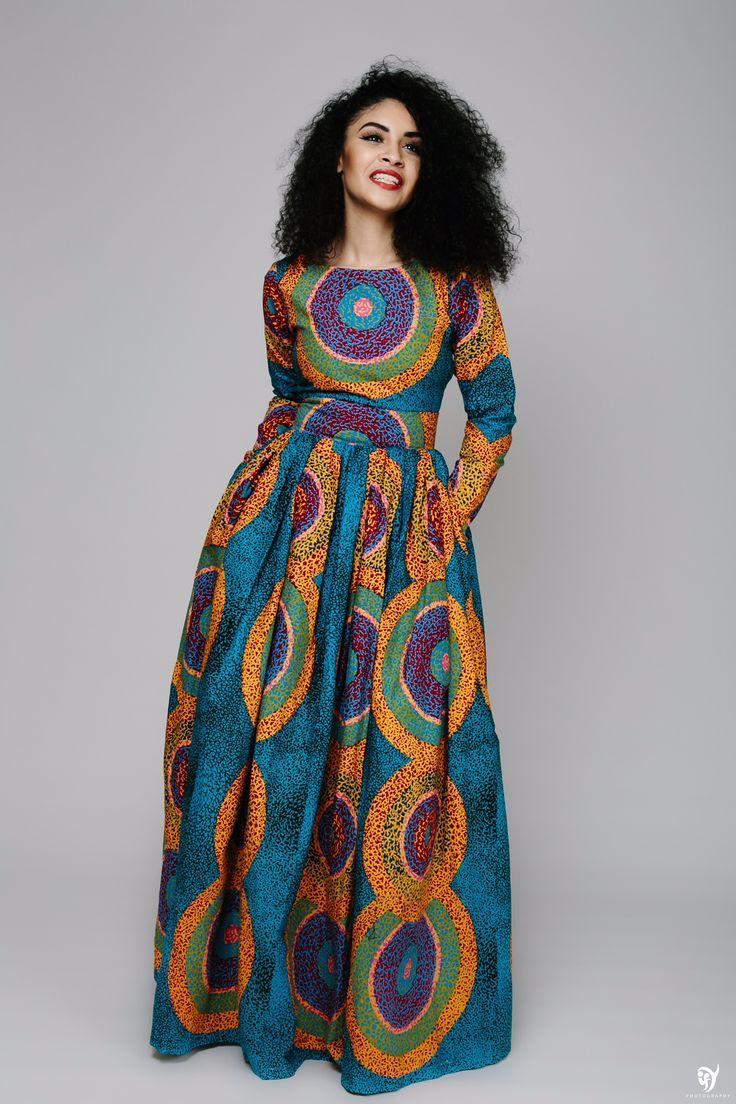 33 best Ankara Maxi Dress images on Pinterest | African ...