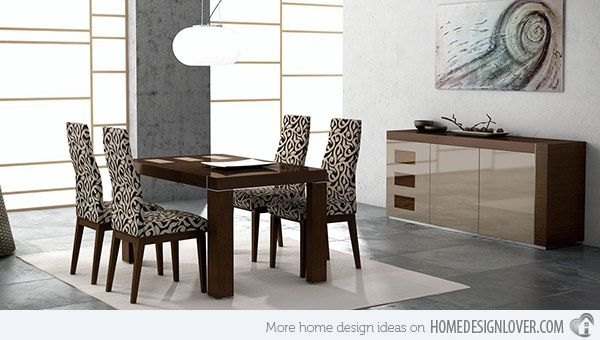 modern dining room sets fanciful interiors pinterest