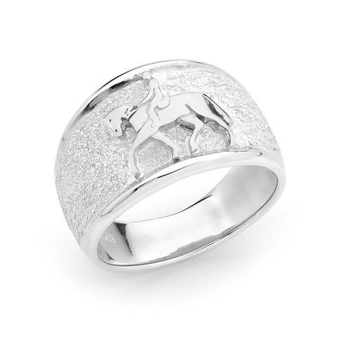 Dressage Horse Ring - EJ & Co Equestrian Jewellery - Equestrian Jewellery created for equestrians and horse lovers