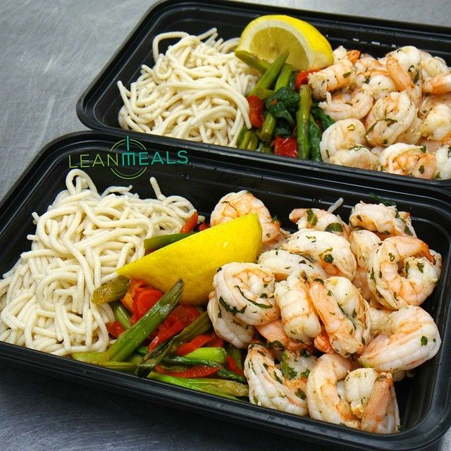 Basil Lemon Shrimp Pasta. #leanmeals #alwaysfreshneverfrozen #socal #losangeles #healthyfood #delivery