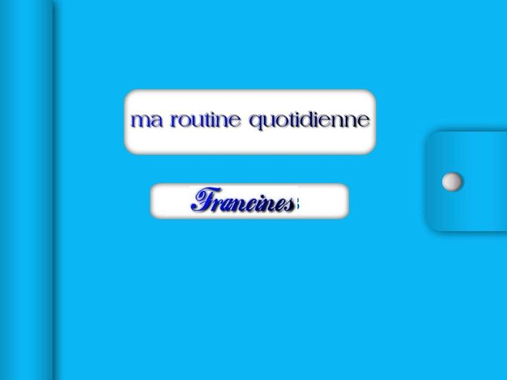 68 Best French Activites Quotidiennes Images On Pinterest