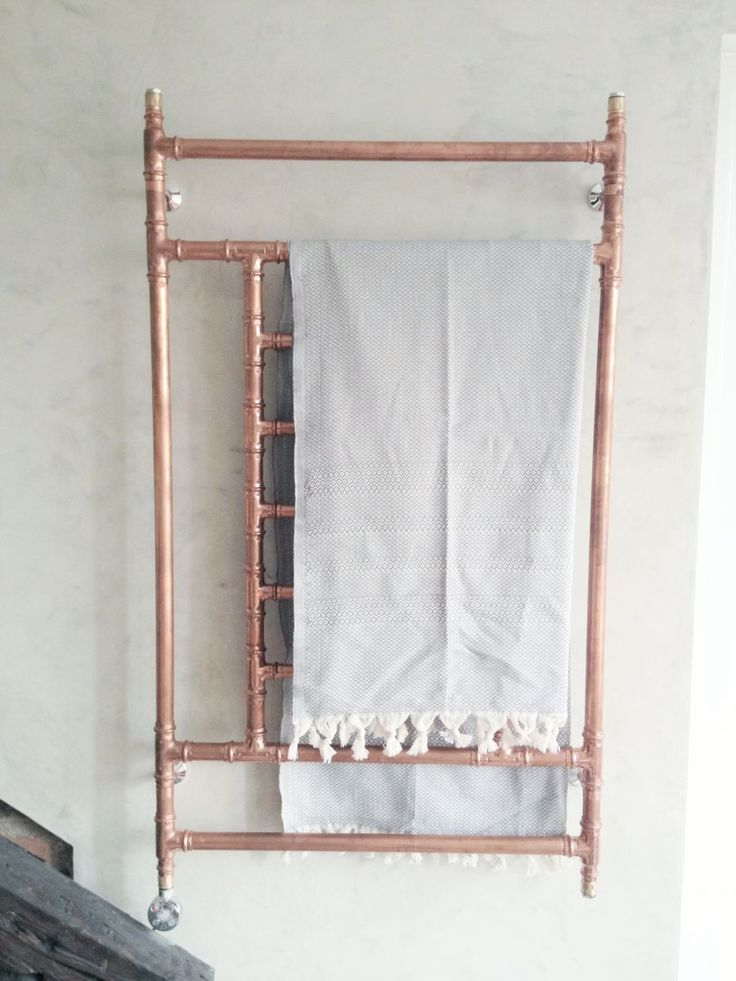 copper towel heater