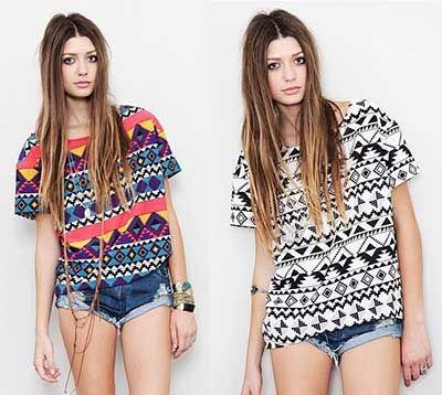 Tendências de Blusas Femininas da Moda