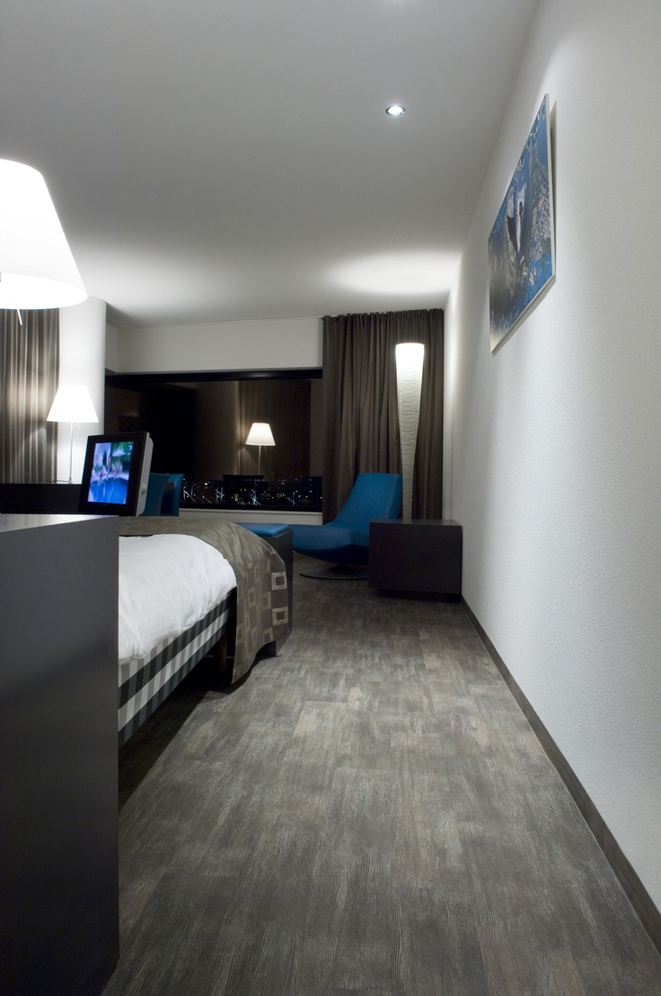 Hästens Junior Suite at Inntel Hotels Rotterdam Centre