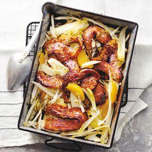 Kijk wat een lekker recept op de test-site van Allerhande! Honing-mosterd speklapjes
