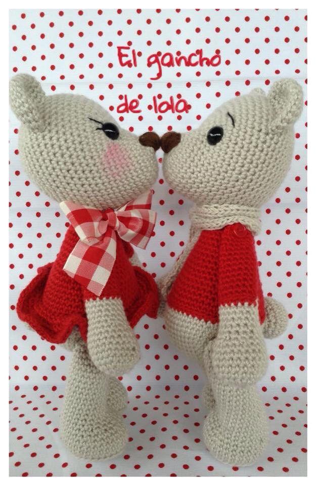 #elganchodelola #amigurumi #crochet #cosasbonitas #sanvalentin