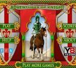 Youre so bored right now? You want to play something to kill the spare time? Be well-prepared and access Adventures Of Knight instantly guys! In this game the players will be in charge of a talented and skillful knight whos on the way to rescue the princess.