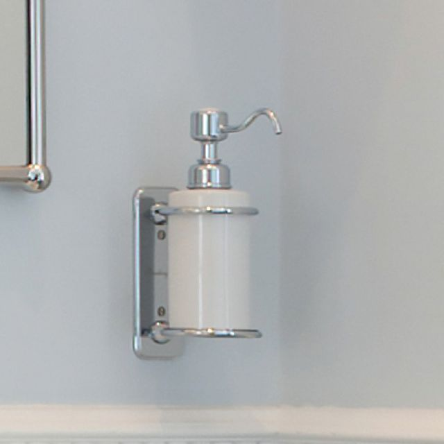 Burlington Traditional Wall Mounted Liquid Soap Dispenser Soap Dispenser Bathroom Soap Dispenser Soap Dispenser Design