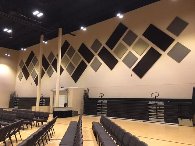 Improve Sound With Acoustic Panels For Church Sanctuary In