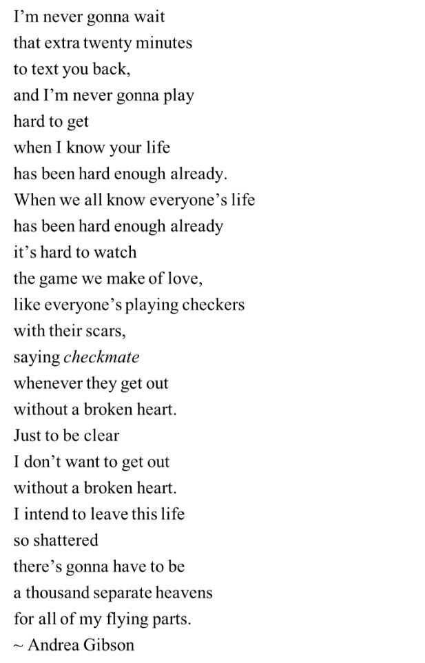 """""""When we all know everyone's life has been hard already. It's hard to watch the game we make love."""" Love this & so true."""