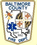 Baltimore County Fire Department Logo