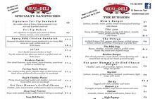 Minden | Nevada | butcher shop | deli | Minden meat & deli