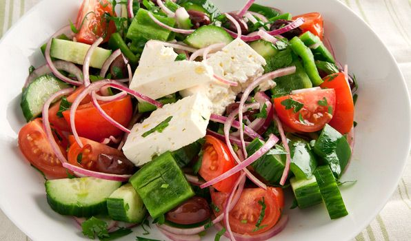 Classic Greek Salad - In the Kitchen with Stefano Faita