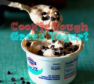 Clean Eating Cookie Dough Yogurt