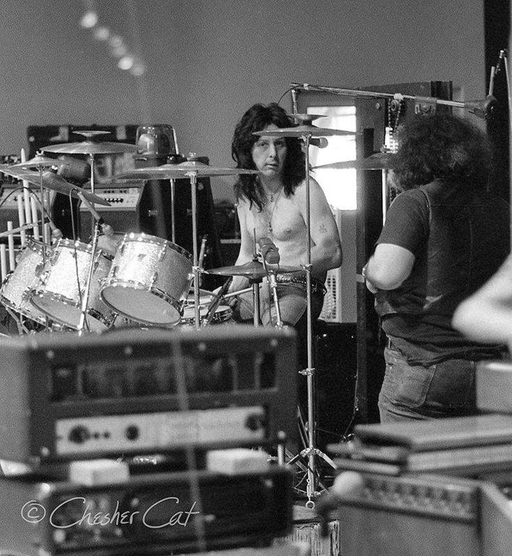 Peter Criss rehearses - May 28, 1974 Vancouver, British Columbia, PNE Garden Auditorium