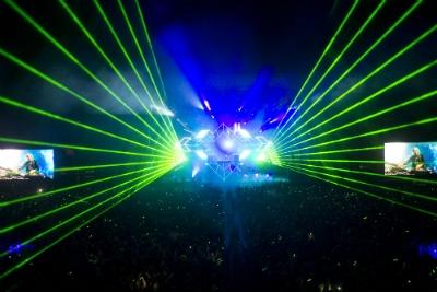 Balaton Sound Lasers